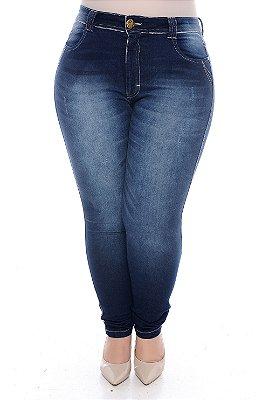 Calça Skinny Plus Size Ciley