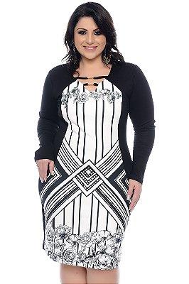 Vestido Plus Size Zelyne