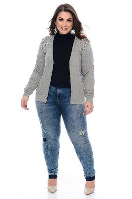 Calça Jeans Plus Size Savany