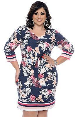 Vestido Plus Size Bernale
