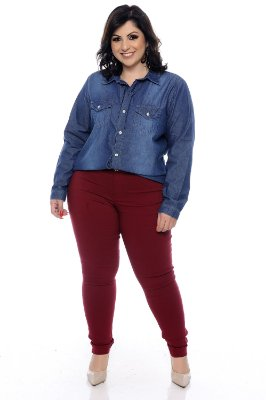 Camisete Jeans Plus Size Madryn