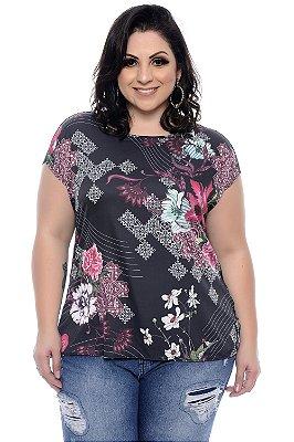 Blusa Plus Size Mandle