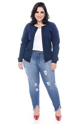 Casaqueto Jeans Plus Size Zama