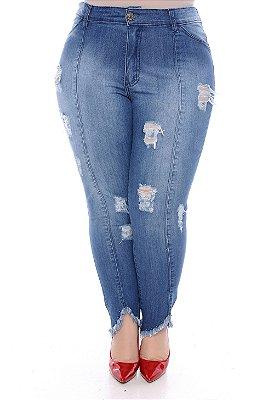 Calça Jeans Plus Size Lainny