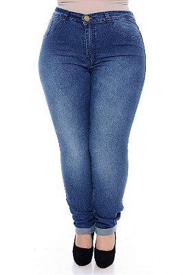 Calça Jeans Plus Size Lukeny
