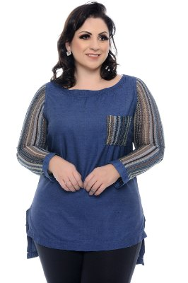 Blusa Plus Size Evelle