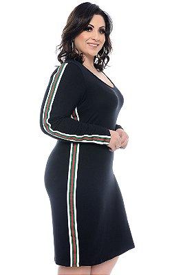 Vestido Plus Size Dhuany