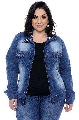 Jaqueta Jeans Plus Size Shayla