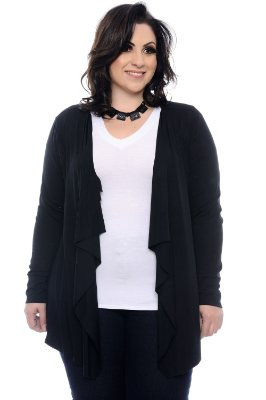 Cardigan Plus Size Cleci