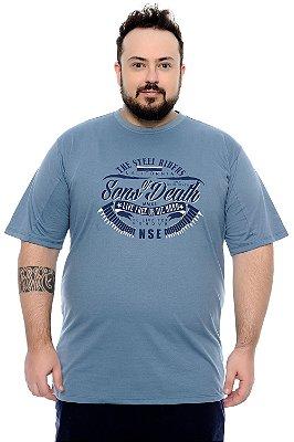 Camiseta Masculina Plus Size Duarte