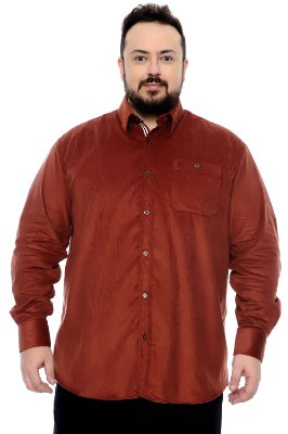 Camisa Xadrez Plus Size Edemir