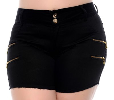 Shorts Jeans Plus Size Molyna