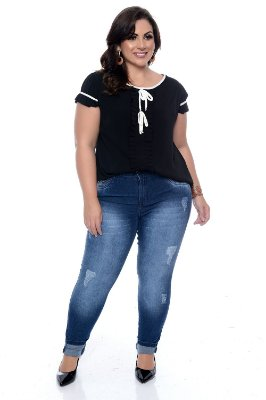 Blusa Plus Size Dorani