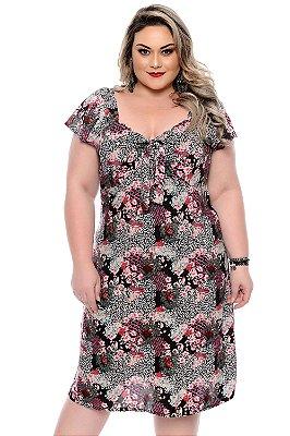 Vestido Plus Size Dellane