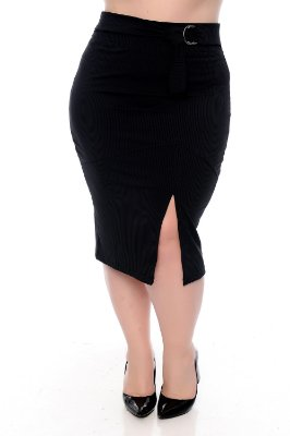 Saia Plus Size Grecy
