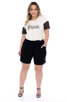 Blusa Plus Size Maryns