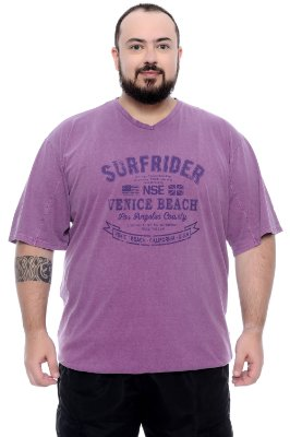 Camiseta Masculina Plus Size Percy