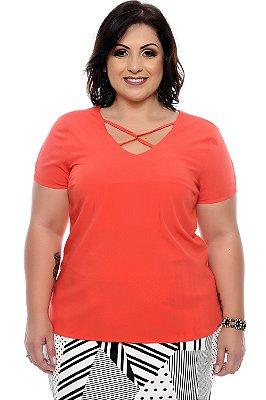 Blusa Plus Size Khystal