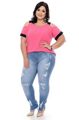 Blusa Plus Size Kaitte