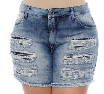 Shorts Jeans Plus Size Elyette