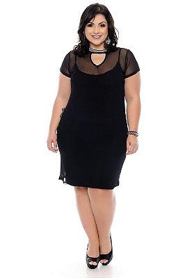 Vestido Plus Size Aryane