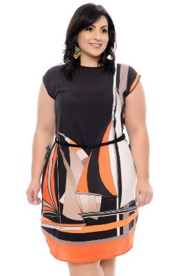 Vestido Plus Size Thery