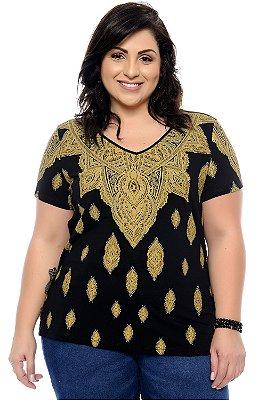 Blusa Plus Size Dudah