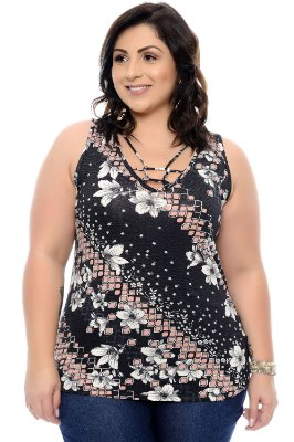 Blusa Plus Size Celli