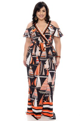 Vestido Plus Size Evely