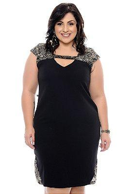 Vestido Plus Size Makla