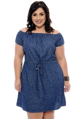 Vestido Plus Size Maryone