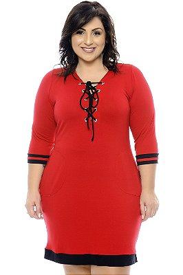 Vestido Plus Size Gedyh