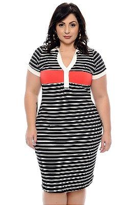 Vestido Plus Size Nardya
