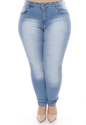 Calça Skinny Plus Size Yarah