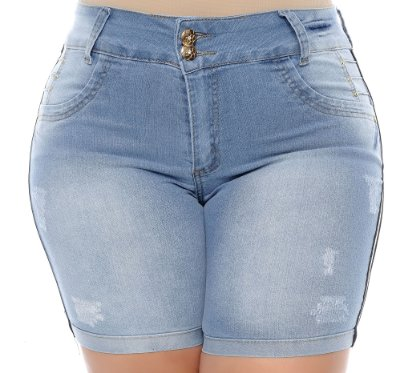 Bermuda Jeans Plus Size Elma