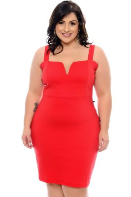 Vestido Plus Size Bylena