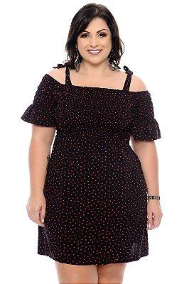 Mini Vestido Plus Size Eslyn