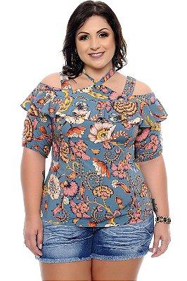 Blusa Plus Size Geldha