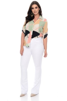 Camisa Plus Size Yanne