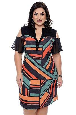 Vestido Chemise Plus Size Halyna