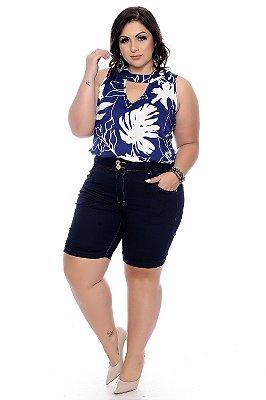 Bermuda Jeans Plus Size Vianne