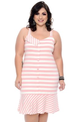 Vestido Plus Size Genely