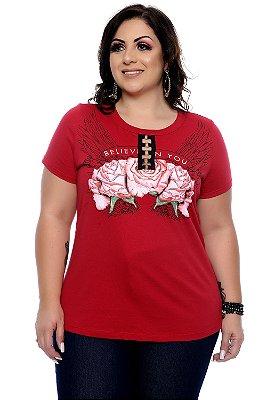 Blusa Plus Size Cassy
