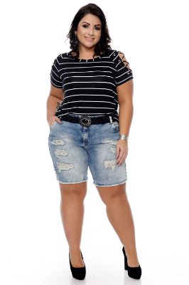 Bermuda Jeans Plus Size Betiane