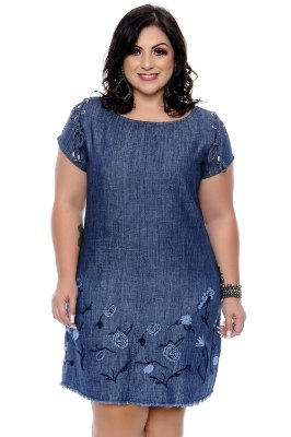 Vestido Plus Size Gilma
