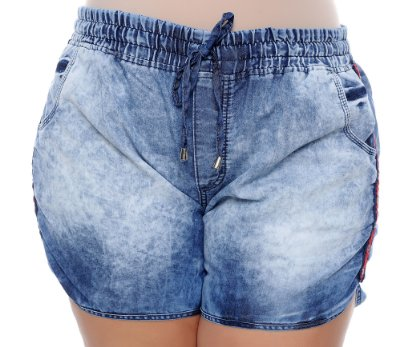 Shorts Jeans Plus Size Keroly