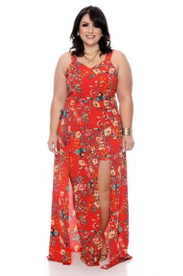 Vestido Macaquinho Plus Size Zanin