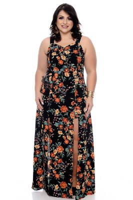 Vestido Macaquinho Plus Size Wedja