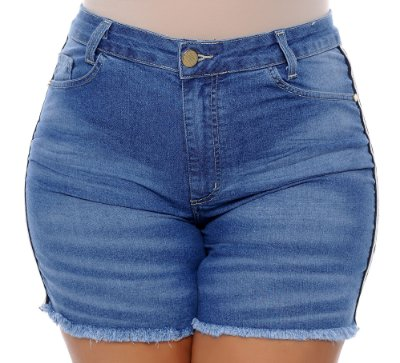 Shorts Jeans Plus Size Salatti