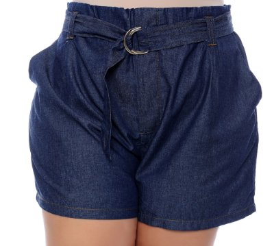 Shorts Jeans Plus Size Garuti